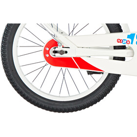 s'cool niXe 18 steel Kinder white/blue/red